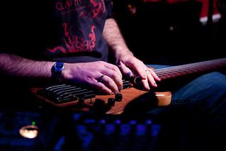 Steve Lawson - lap bass   by Paul Parkinson LRPS CPAGB (parkylondon)