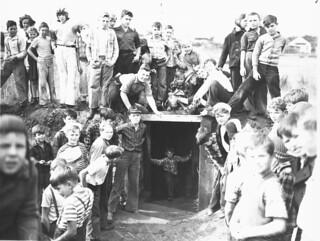 Highland Park Playground, 1945