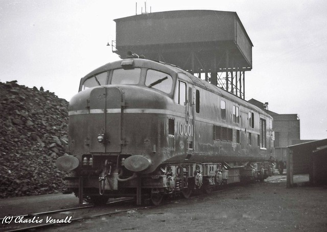 10001 Willesden Shed 27 July 1952