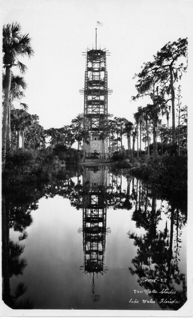 Singing Tower During Construction 80+ Years Ago