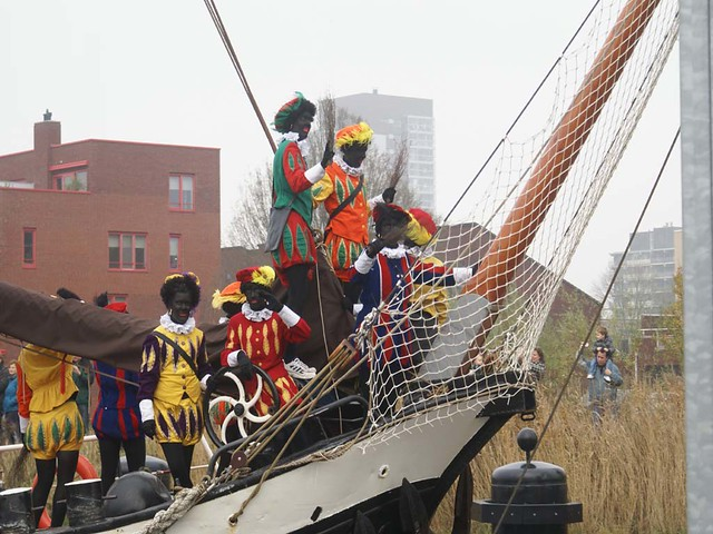 De pieten zijn er klaar voor. The Pieten are ready. Groningen (NL)