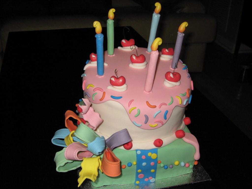 Prime Funky Birthday Cake Evonne Flickr Personalised Birthday Cards Arneslily Jamesorg