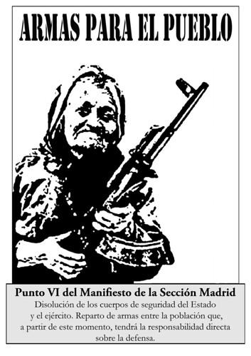 Armas para el Pueblo | by Sección Madrid