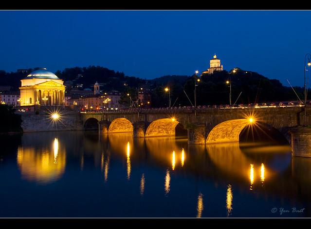 7671fe9b7e Torino, Italy | Torino (Turin), Italy. Bridge over Po river … | Flickr