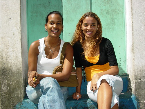 Young Women in the Streets of Salvador - Brazil | by Adam Jones, Ph.D. - Global Photo Archive