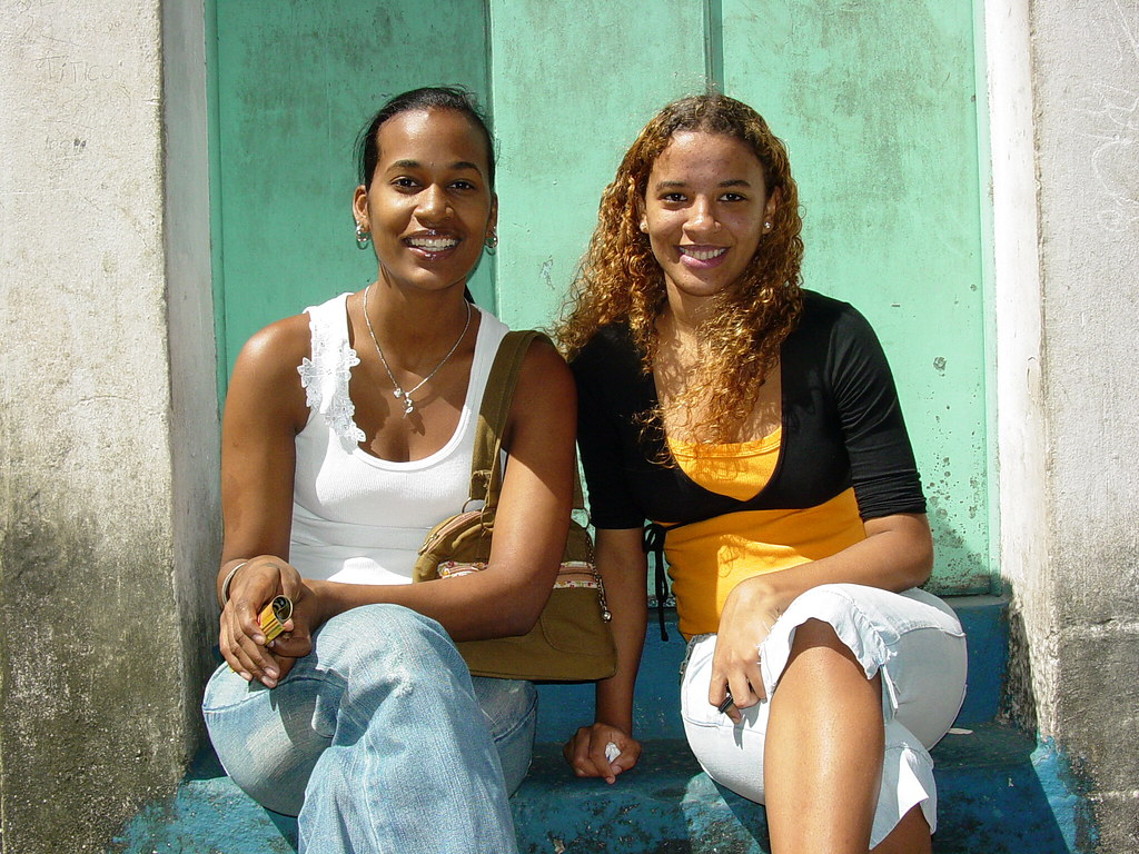 Young Women In The Streets Of Salvador - Brazil  Adam -8340