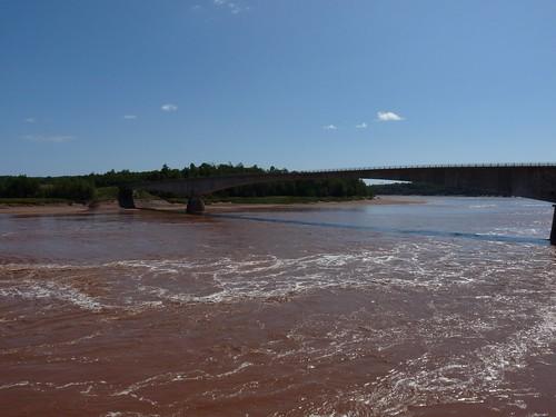 vacation canada river novascotia mud tide muddy shubenacadie tidalbore maitland shubenacadieriver
