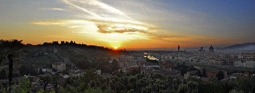 Florence sunset panorama | by slack12