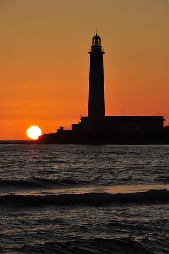 sunset sea summer lighthouse faro tramonto mare estate kartibubbo granitola rgsmare