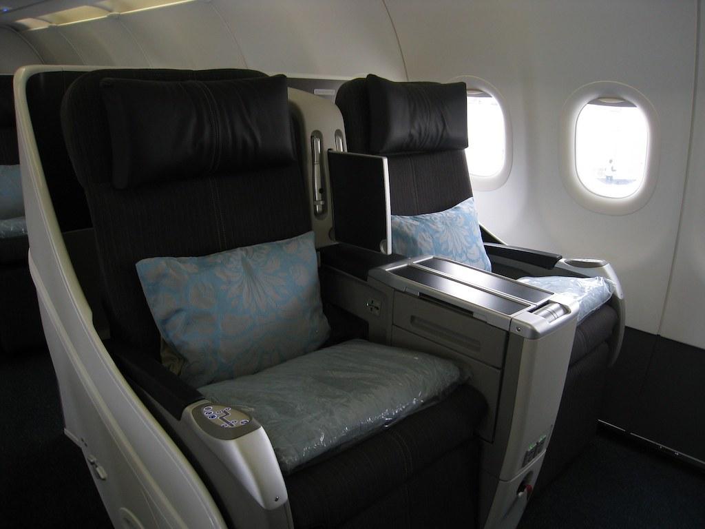 A318 Interior - Flatbed seat
