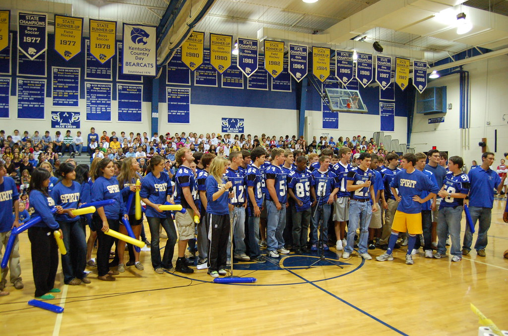 Pep Rally   Kentucky Country Day   Flickr