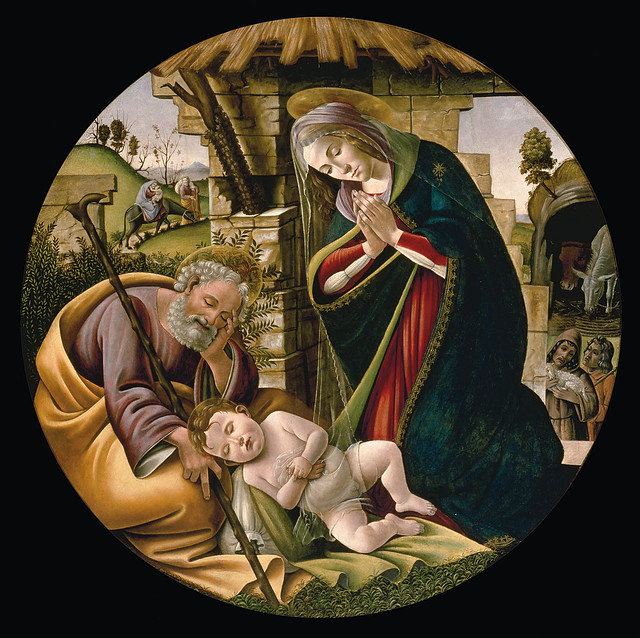 Sandro Botticelli: Adoration of the Christ Child