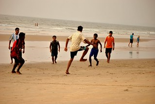 Beach football | by Joshua Singh