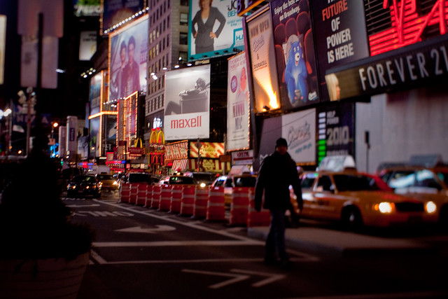 NYC:Midtown: Escape from Times Square