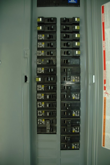 Main Breaker Panel