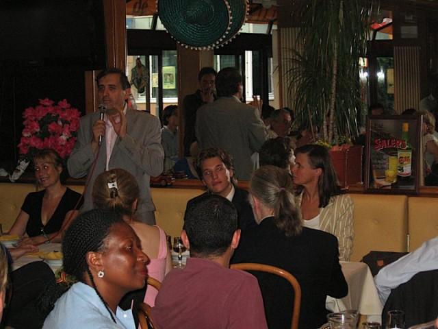 Rencontre entre chefs d'entreprise et ambassadeurs belges