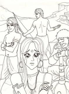 A very Manga Judging of Sita | by aspih
