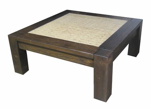 Custom Square Melrose Coffee Table w/ Kirei | by urbanwoods123