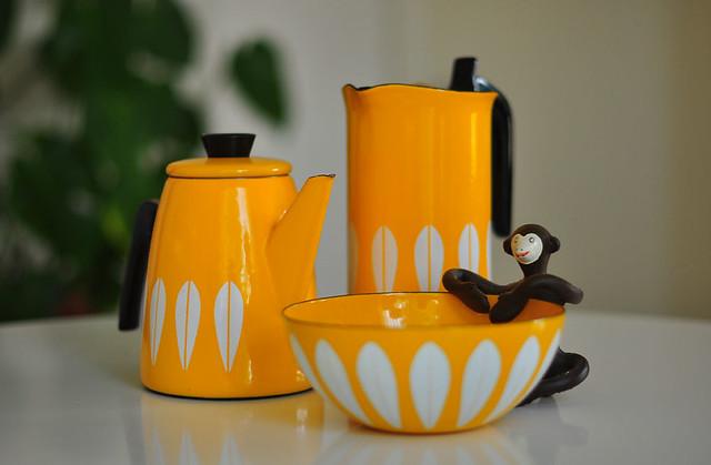 Cathrineholm Yellow Coffee Pot - small bowl