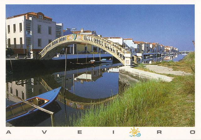 Aveiro Portugal Postcard