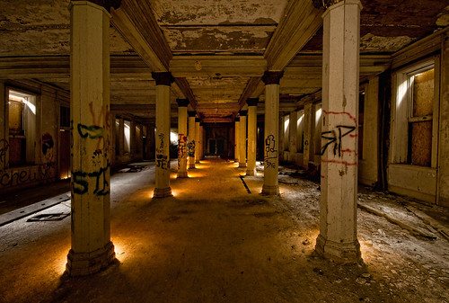 longexposure light urban ny newyork building brick castle abandoned painting hall ruins decay hill columns ruin off jackson abandon urbanexploration exploration kellogg decayed decaying crumbling wellness limits urbex dansville sanitorium castleonthehill clolumn thecastleonthehill plightpainting granoola