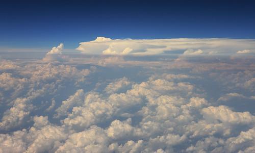 clouds louisiana neworleans aerial airplanewindowview