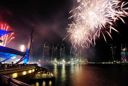Singapore National Day fireworks sneak preview