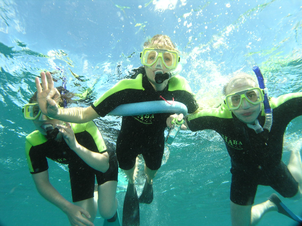 Snorkelling at Great Barrier Reef - must-do Outdoor adventures in Australia