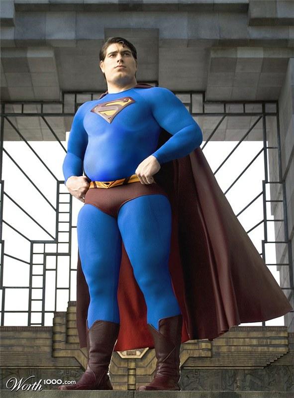 Image result for fat superman