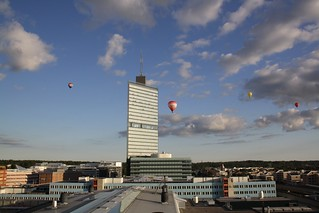 Balloons over Kista | by dtsomp