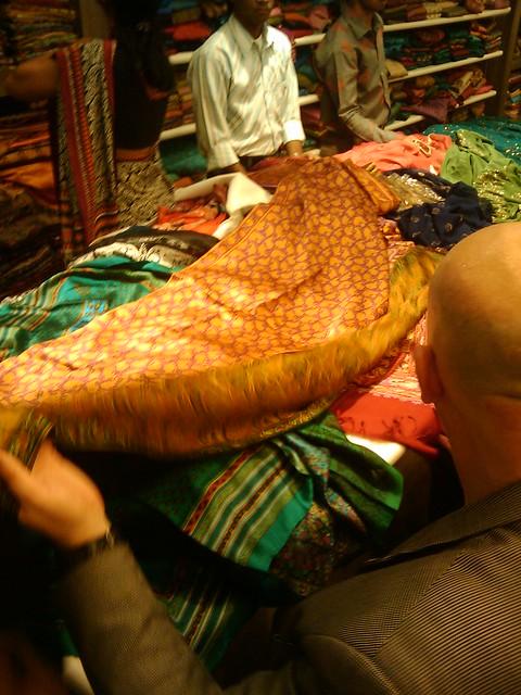 Phil looks at silks