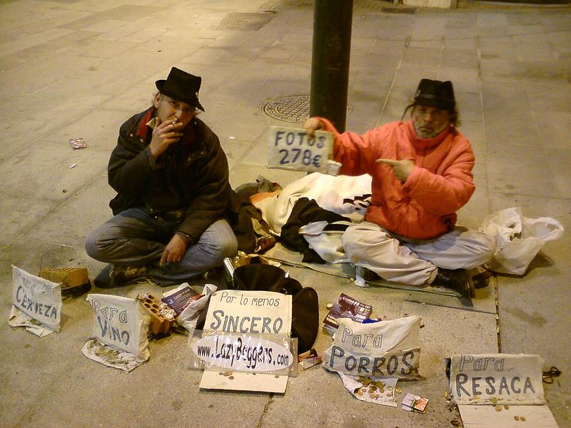 Lazy Beggars