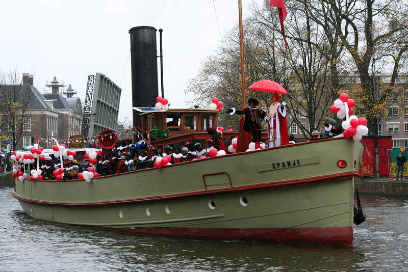 Sinterklaas Intocht 2009 - Stoomboot in All its Glory