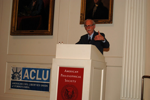 David Rudovsky at ACLU-PA Bill of Rights Dinner | by dgtrav
