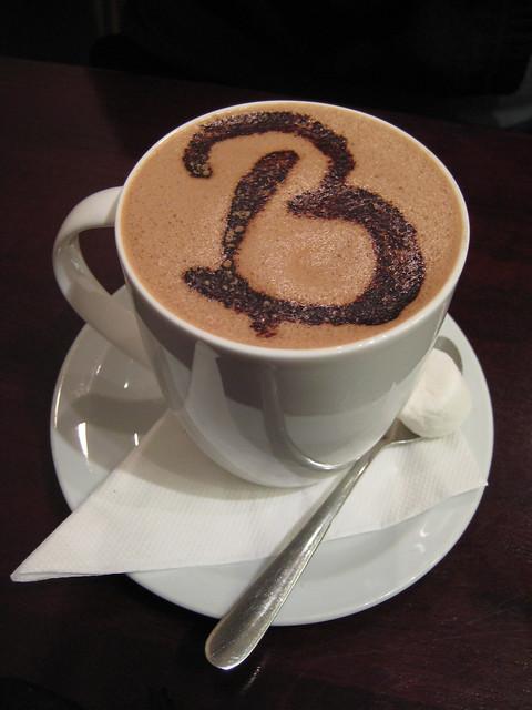 Birthday hot chocolate