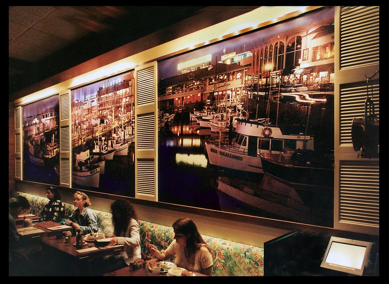 Host Marriot SF Airport Restaurant, Photo-Wall mural