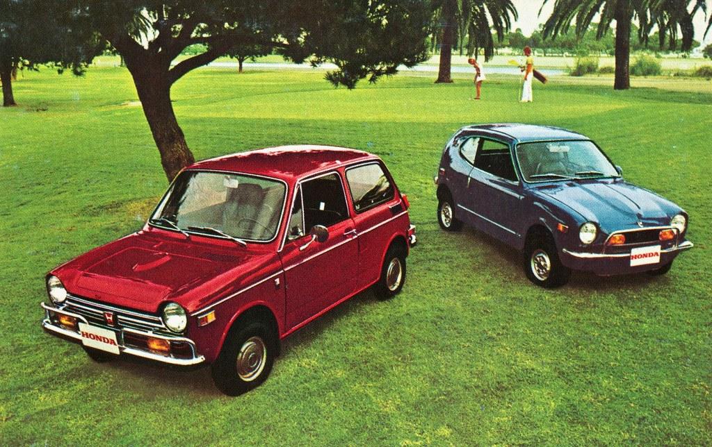 Honda 600 Sedan and Coupe