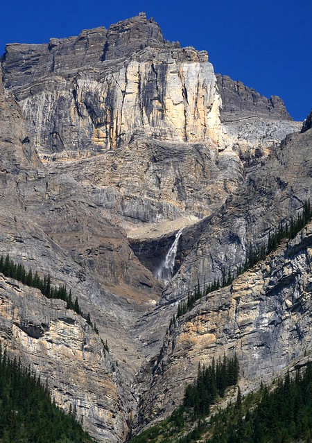Dramatic mountain landscape in Banff National Park