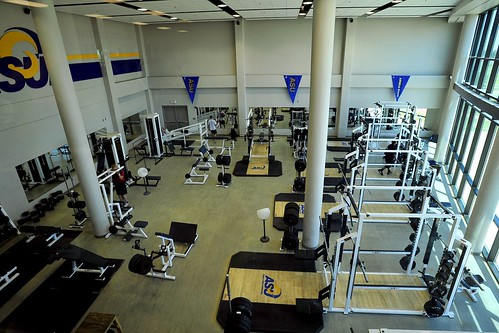 Angelo State Weight Room