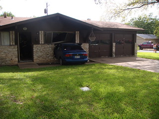 Car Meets House II (aka South Austin Parking Spot) | by Todd Dwyer