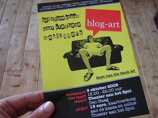 Blog-art flyer | by HarcoRutgers