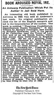 NYTimes 1910 | bibliodyssey blogspot com/2009/11/theatre-of