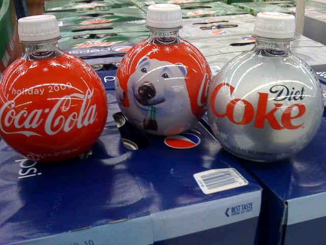 2009 Coke Holiday ornament bottles | The new Holiday 2009 or