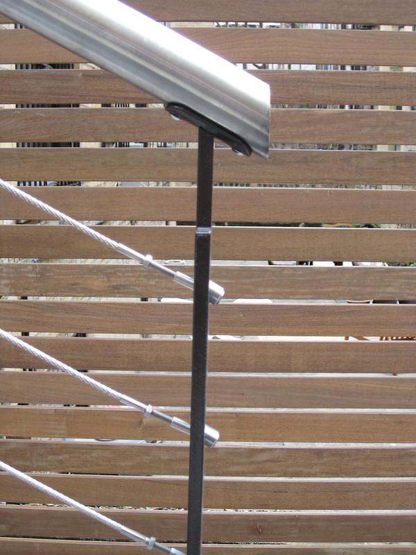 handrail end detail