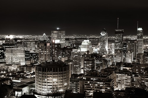 Montreal Skyline taken from Mount Royal mountain | by Paolo.Taverna