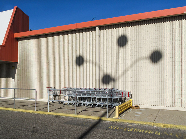 I know why the Minneapolis Lake Street Kmart faces south.