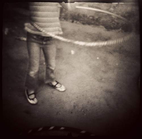 the great hula hoop experiment- part 1 | by Laura Burlton - www.lauraburlton.com