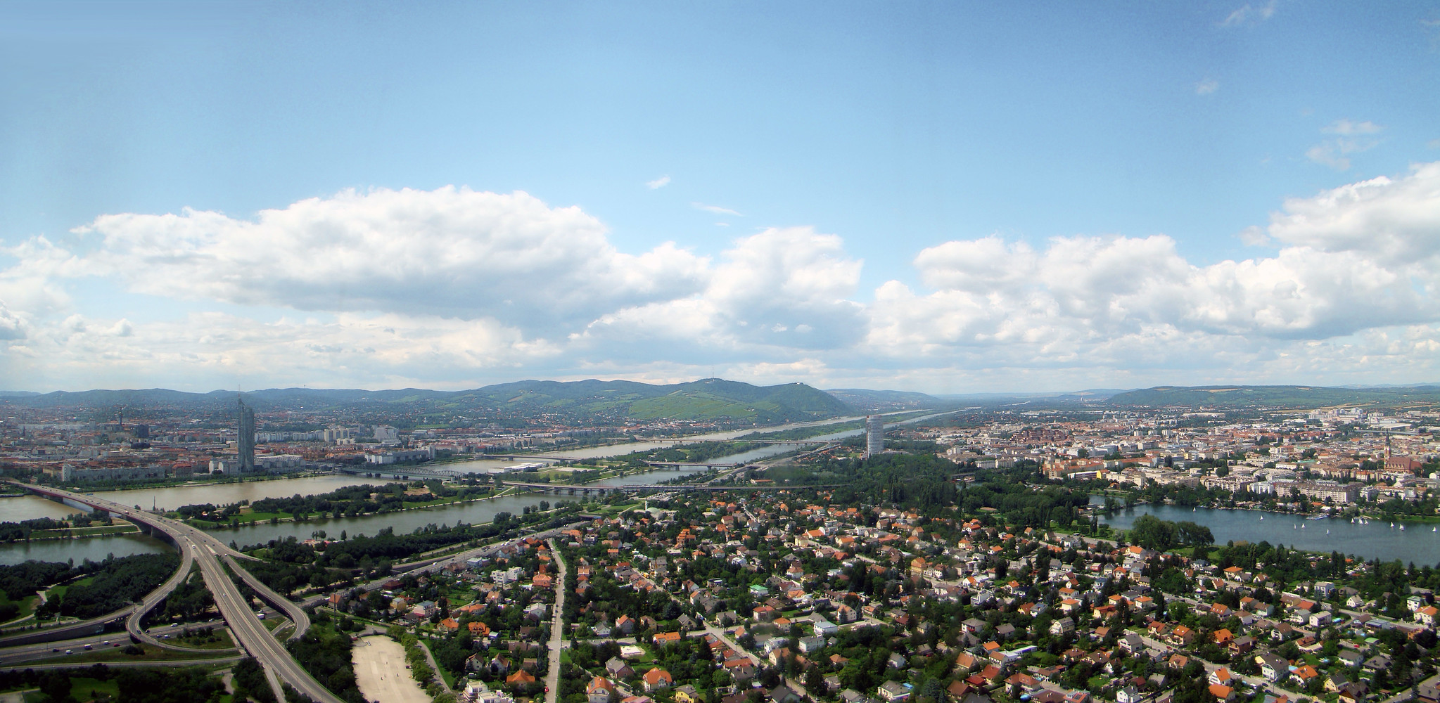 vista panoramica Viena Austria