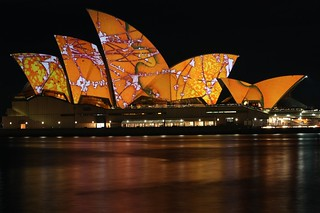 Light Painting on the Opera House | by Frogé