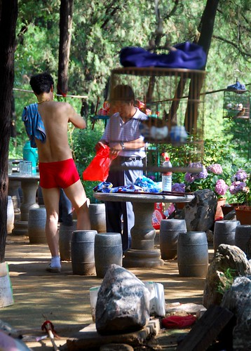 hiking taishan in his underwear | by hopemeng